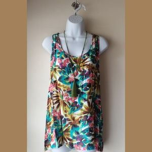 Tropical Racerback Top